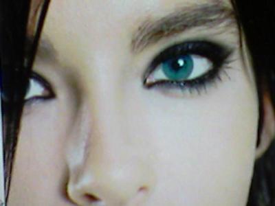 Brun ou bleu - Brun au yeux bleu ...